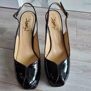 Yves Saint Laurent Tribute Heel Slingback